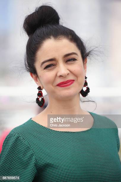 Actress Erica Rivas attends the La Cordillera El Presidente photocall during the 70th annual Cannes Film Festival at Palais des Festivals on May 24...