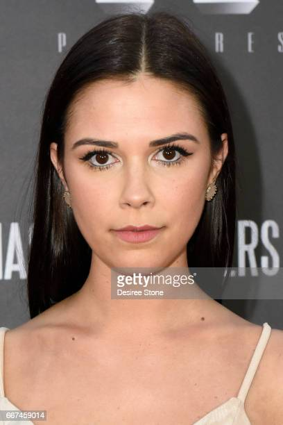 """Actress Erica Souza attends the premiere of """"The Mason Brothers"""" at the Egyptian Theatre on April 11, 2017 in Hollywood, California."""