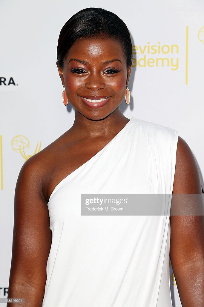 Actress Erica Tazel attends the Television Academy and SAG-AFTRA Presents Dynamic & Diverse: A 66th Emmy Awards Celebration of Diversity at the Leonard H. Goldenson Theatre on August 12, 2014 in North Hollywood, California.