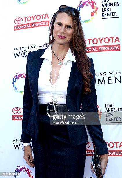 Actress Erika 'Amazon Eve' Ervin attends An Evening with Women benefiting the Los Angeles LGBT Center at the Hollywood Palladium on May 21 2016 in...