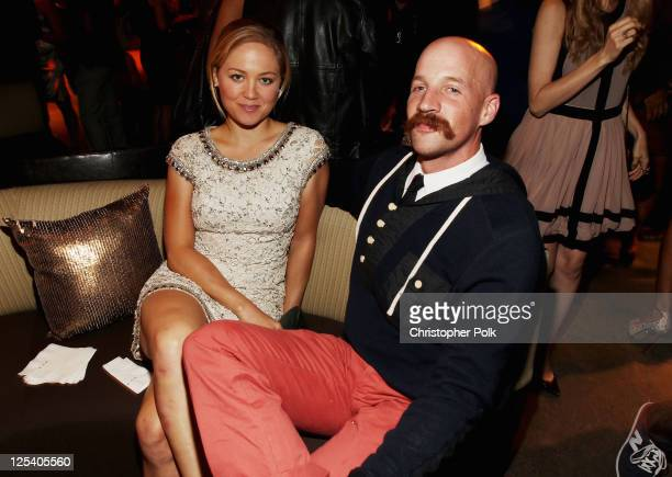 Actress Erika Christensen and Cole Maness attend The 2011 Entertainment Weekly And Women In Film PreEmmy Party Sponsored By L'Oreal at BOA Steakhouse...