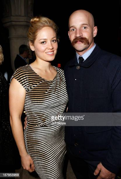 Actress Erika Christensen and Cole Maness attend the SILVER LININGS PLAYBOOK Event Hosted By Lexus And Purity Vodka at Chateau Marmont on December 7...