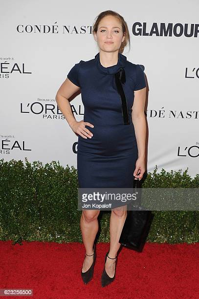 Actress Erika Christensen arrives at Glamour Women Of The Year 2016 at NeueHouse Hollywood on November 14 2016 in Los Angeles California