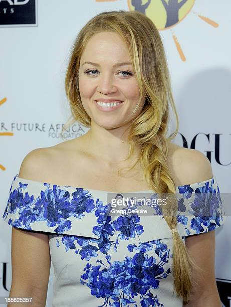 Actress Erika Christensen arrives at the Dream For Future Africa Foundation Gala at Spago on October 24, 2013 in Beverly Hills, California.