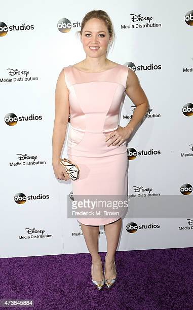 Actress Erika Christensen attends Disney Media Disribution International Upfronts at Walt Disney Studios on May 17 2015 in Burbank California