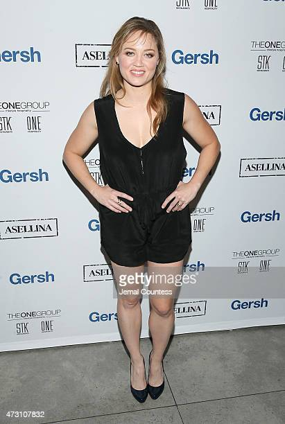 Actress Erika Christensen attends the 2015 Gersh Upfronts Party at Asellina at the Gansevoort on May 12 2015 in New York City