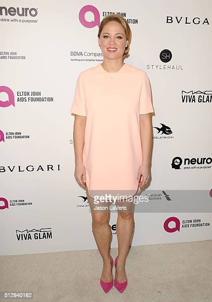 Actress Erika Christensen attends the 24th annual Elton John AIDS Foundation's Oscar viewing party on February 28 2016 in West Hollywood California