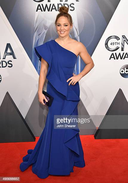 Actress Erika Christensen attends the 49th annual CMA Awards at the Bridgestone Arena on November 4, 2015 in Nashville, Tennessee.