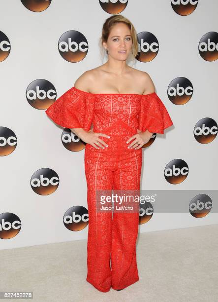 Actress Erika Christensen attends the Disney ABC Television Group TCA summer press tour at The Beverly Hilton Hotel on August 6 2017 in Beverly Hills...
