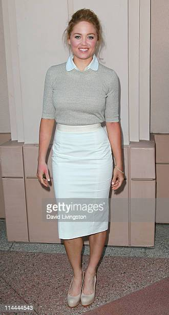 Actress Erika Christensen attends the Emmy screening for NBC's Parenthood at the Leonard H Goldenson Theatre on May 19 2011 in North Hollywood...