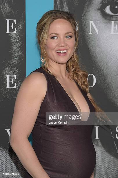 Actress Erika Christensen attends the premiere of HBO Films' Confirmation at Paramount Theater on the Paramount Studios lot on March 31 2016 in...