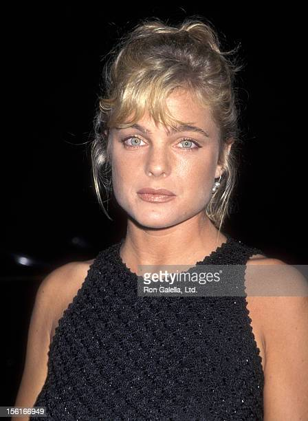 Actress Erika Eleniak attends ABC TV Affiliates Party on September 10 1997 at the Armand Hammer Museum in Westwood California