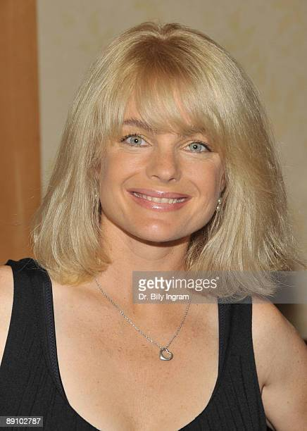 Actress Erika Eleniak attends The Hollywood Collectors and Celebrities Show at the Burbank Airport Marriott on July 18 2009 in Burbank California