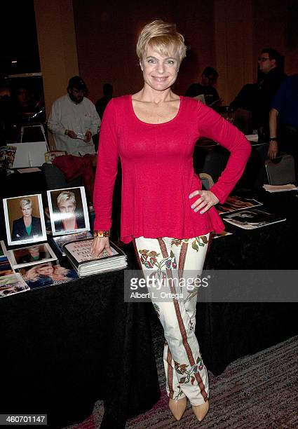 Actress Erika Eleniak attends The Hollywood Show at Lowes Hollywood Hotel on January 4 2014 in Hollywood California