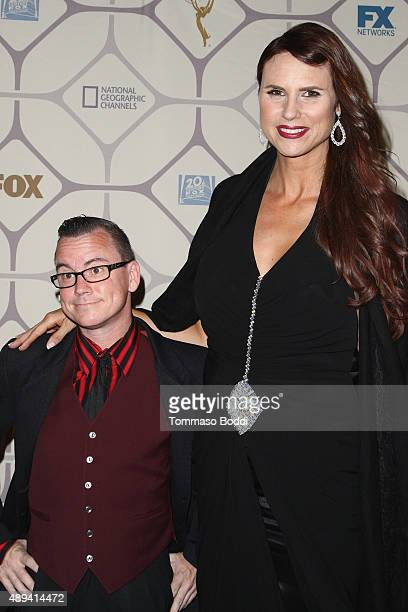 Actress Erika Ervin and guest attend the 67th Primetime Emmy Awards Fox after party on September 20 2015 in Los Angeles California