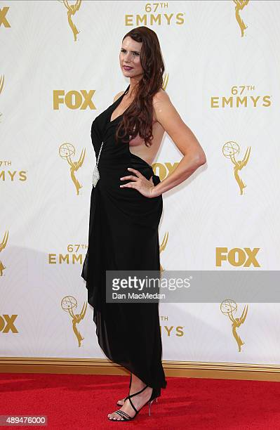 Actress Erika Ervin arrives at the 67th Annual Primetime Emmy Awards at the Microsoft Theater on September 20 2015 in Los Angeles California