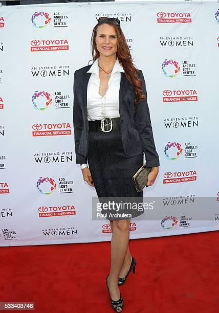 Actress Erika Ervin attends An Evening With Women charity event at The Hollywood Palladium on May 21 2016 in Los Angeles California