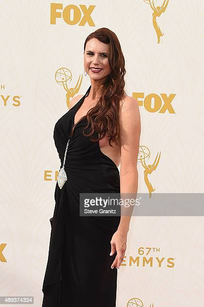 Actress Erika Ervin attends the 67th Annual Primetime Emmy Awards at Microsoft Theater on September 20 2015 in Los Angeles California