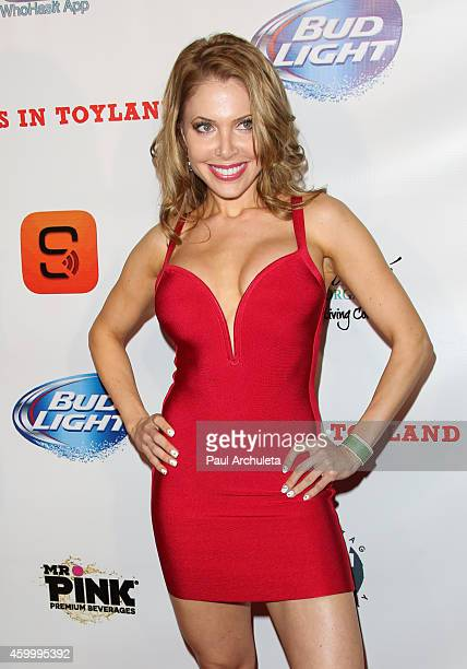 Actress Erika Jordan attends the 7th Annual Babes In Toyland charity toy drive benefiting Promises 2 Kids at Station Hollywood at W Hollywood Hotel...