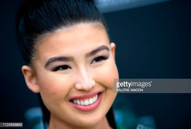 Actress Erika Tham attends the world premiere of Disney channel original movie 'Kim Possible' in North Hollywood California on February 12 2019