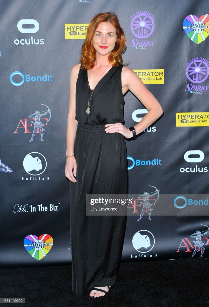 Actress Erin Breen attends Artemis Women In Action Film Festival at Laemmle's Ahrya Fine Arts Theatre on April 20, 2017 in Beverly Hills, California.