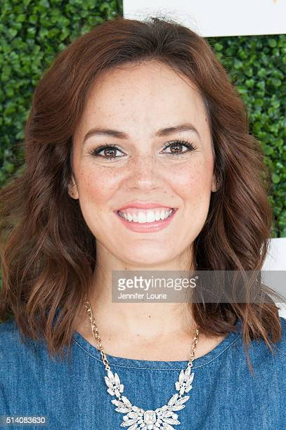 Actress Erin Cahill arrives at the 2nd Annual LoveLife Fundraiser to support buildOn hosted by Travis Van Winkle at the Microsoft Lounge on March 6...