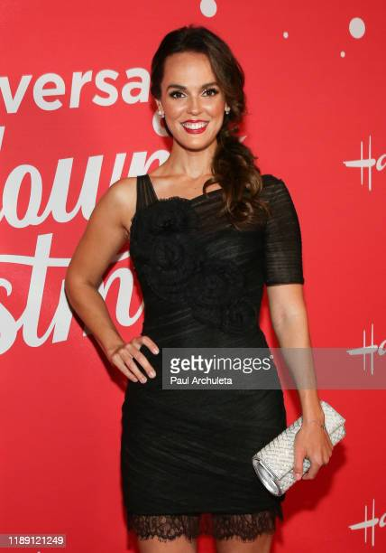 """Actress Erin Cahill attends Hallmark Channel's 10th Anniversary of """"Countdown To Christmas"""" screening and party at 189 by Dominique Ansel on November..."""