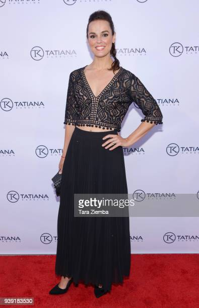 Actress Erin Cahill attends Tatiana Karelina LA Launch Party on March 27 2018 in West Hollywood California