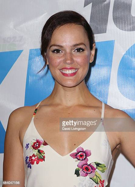 Actress Erin Cahill attends the 1027 KIIS FM's Annual Teen Choice PreParty at W Los Angeles Westwood on August 14 2015 in Los Angeles California