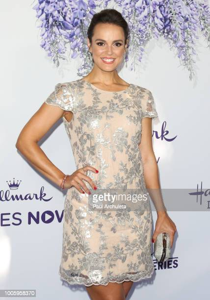 Actress Erin Cahill attends the 2018 Hallmark Channel Summer TCA at Private Residence on July 26 2018 in Beverly Hills California