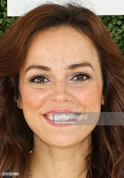 Actress Erin Cahill attends the 2nd annual LoveLife fundraiser to support The BuildOn Organization at Microsoft Lounge on March 6 2016 in Venice...