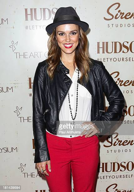 Actress Erin Cahill attends the Art Of Elysium's 5th annual Genesis Gala at Siren Cube on September 20 2013 in Los Angeles California