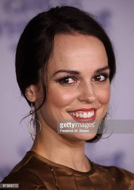 Actress Erin Cahill attends the 'Ghost Whisperer' 100th episode celebration at XIV on March 1 2010 in West Hollywood California