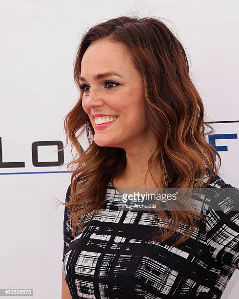 Actress Erin Cahill attends the LoveLife fundraiser to support buildOn at Siren Studios on February 15 2015 in Hollywood California