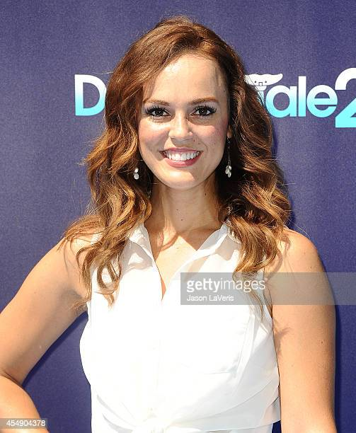 Actress Erin Cahill attends the premiere of Dolphin Tale 2 at Regency Village Theatre on September 7 2014 in Westwood California
