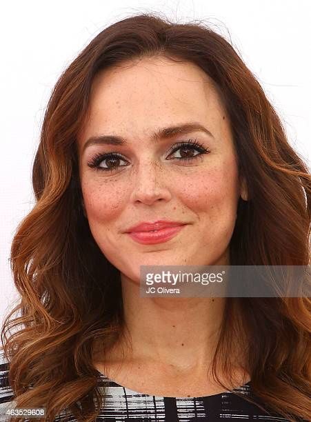 Actress Erin Cahill attends Travis Van Winkle hosts LoveLife a fundraiser to support buildOn at Siren Studios on February 15 2015 in Hollywood...