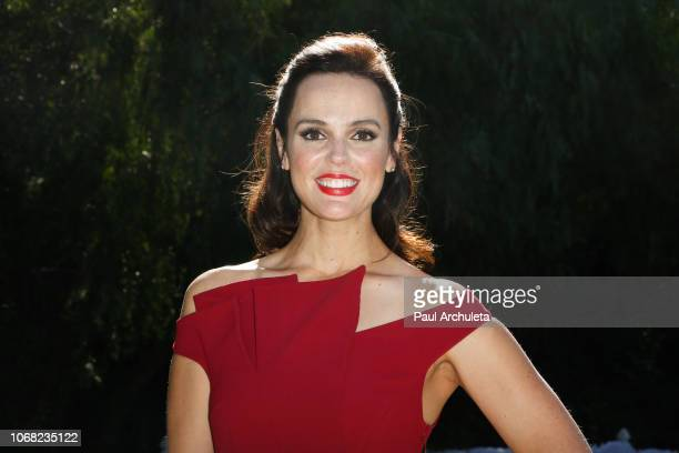 Actress Erin Cahill visits Hallmark's 'Home Family' at Universal Studios Hollywood on November 15 2018 in Universal City California