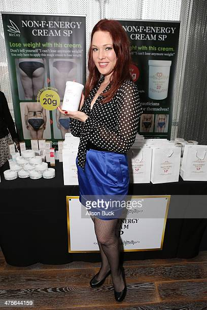 Actress Erin Cummings attends Kari Feinstein's PreAcademy Awards Style Lounge at the Andaz West Hollywood on February 28 2014 in Los Angeles...