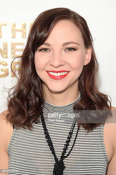 Actress Erin Darke attends the 2016 New Group Gala at the Tribeca Rooftop on March 7 2016 in New York City