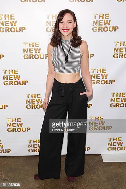 Actress Erin Darke attends the 2016 New Group Gala held at Tribeca Rooftop on March 7 2016 in New York City