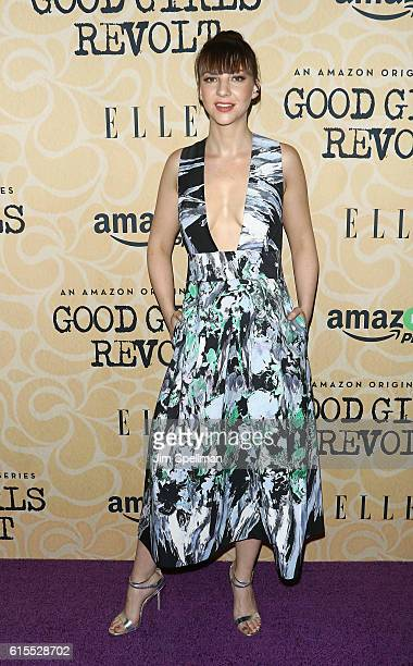 Actress Erin Darke attends the Good Girls Revolt New York screening at the Joseph Urban Theater at Hearst Tower on October 18 2016 in New York City