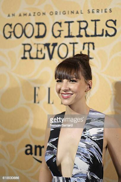 Actress Erin Darke attends the 'Good Girls Revolt' New York Screening at the Joseph Urban Theater at Hearst Tower on October 18 2016 in New York City