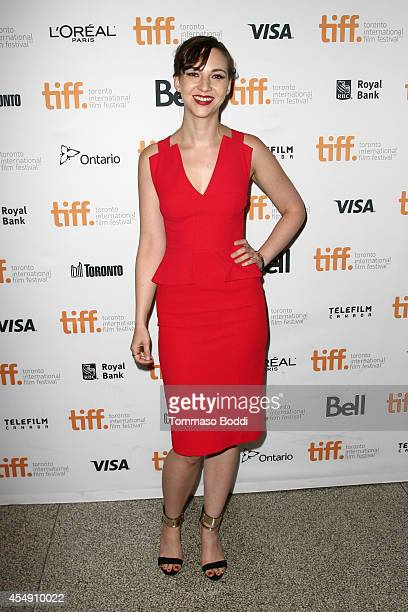 Actress Erin Darke attends the Love Mercy premiere during the 2014 Toronto International Film Festival at The Elgin on September 7 2014 in Toronto...