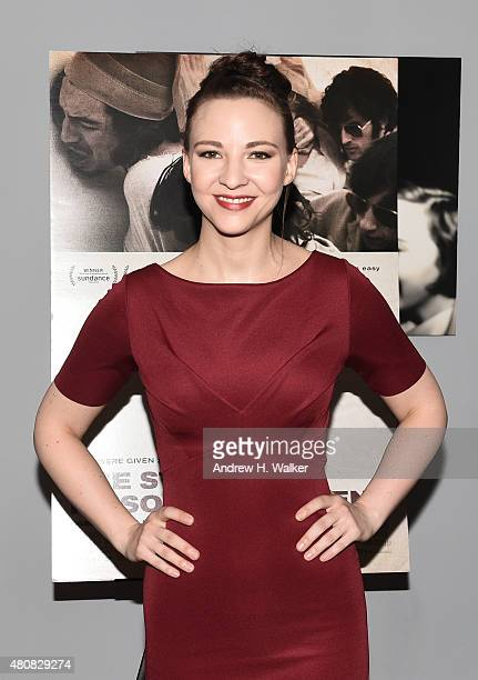 """Actress Erin Darke attends the New York premiere of """"The Stanford Prison Experiment"""" at Chelsea Bow Tie Cinemas on July 15, 2015 in New York City."""