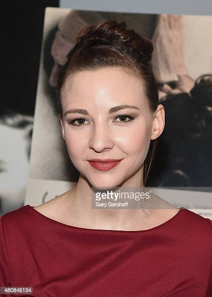 Actress Erin Darke attends The Stanford Prison Experiment New York Premiere at Chelsea Bow Tie Cinemas on July 15 2015 in New York City