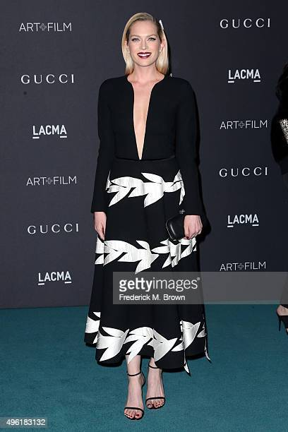 Actress Erin Foster attends LACMA 2015 ArtFilm Gala Honoring James Turrell and Alejandro G Iñárritu Presented by Gucci at LACMA on November 7 2015 in...