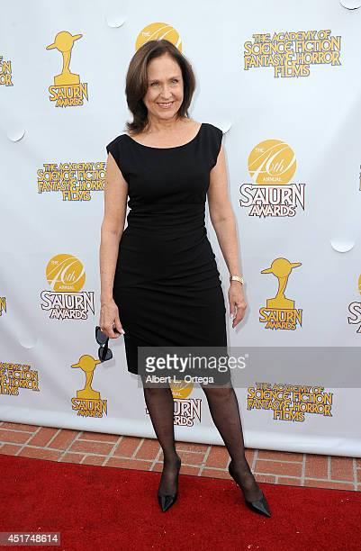 Actress Erin Gray arrives for the 40th Annual Saturn Awards held at The Castaway on June 26 2014 in Burbank California