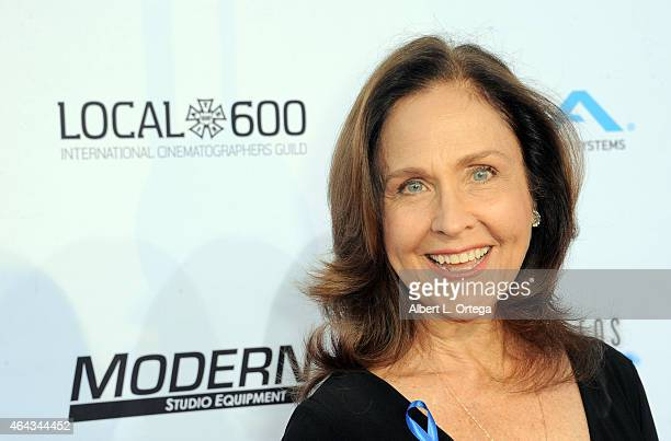 Actress Erin Gray at the 2015 Society Of Camera Operators Lifetime Achievement Awards held at Paramount Studios on February 8 2015 in Hollywood...