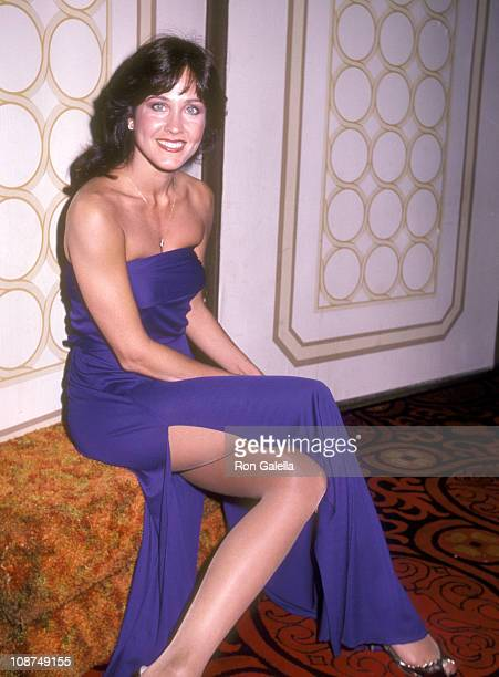 Actress Erin Gray attends the 23rd Annual International Broadcasting Awards on March 15 1983 at Century Plaza Hotel in Los Angeles California