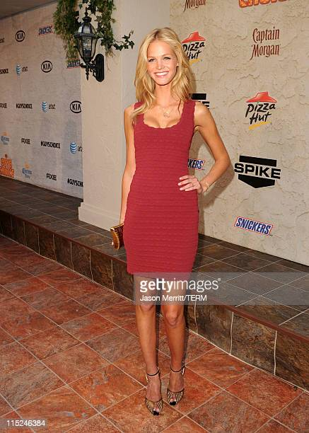Actress Erin Heatherton arrives at Spike TV's 5th annual 2011 'Guys Choice' Awards at Sony Pictures Studios on June 4 2011 in Culver City California